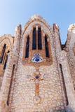 圣玛丽亚马格达莱纳修道院在诺韦尔达,西班牙 库存图片