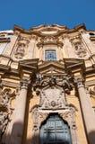 圣玛丽亚马达莱纳半岛教会在罗马。意大利。 免版税库存照片