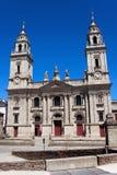 圣玛丽亚,卢戈,西班牙大教堂  免版税库存照片