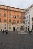 圣玛丽亚,罗马大教堂  库存图片