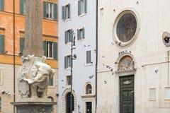 圣玛丽亚,罗马大教堂  免版税图库摄影