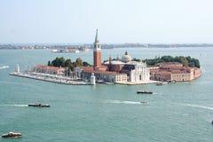 圣玛丽亚从钟楼的della致敬 库存照片