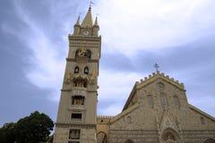 圣玛丽亚Assunta中央寺院  免版税图库摄影
