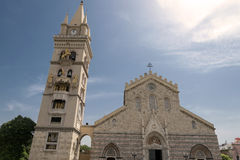 圣玛丽亚Assunta中央寺院  库存图片