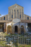 圣玛丽亚Assunta古老大教堂  库存图片