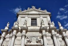 圣玛丽亚Assunta教会  库存图片