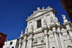 圣玛丽亚Assunta教会  库存照片