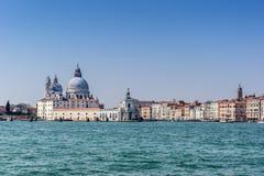 圣玛丽亚D致敬在威尼斯 库存照片