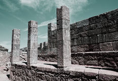圣玛丽亚da费拉的城堡 库存图片