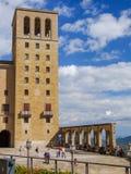 圣玛丽亚de蒙特塞拉特修道院在西班牙 免版税库存照片