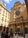 圣玛丽亚de蒙特塞拉特修道院在西班牙 免版税库存图片