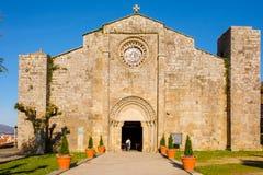 圣玛丽亚de Baiona教区  免版税库存照片