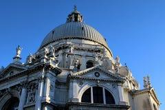 圣玛丽亚de la Salute,威尼斯,意大利 免版税库存照片