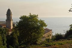 圣玛丽亚de Oia修道院, 库存照片