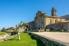 圣玛丽亚de Oia修道院  图库摄影