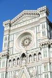 圣玛丽亚del菲奥雷在佛罗伦萨 免版税图库摄影