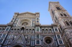 圣玛丽亚del菲奥雷,中央寺院大教堂在佛罗伦萨,意大利 免版税库存图片