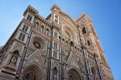 圣玛丽亚del菲奥雷,中央寺院大教堂在佛罗伦萨,意大利 库存图片
