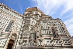 圣玛丽亚del菲奥雷,佛罗伦萨,意大利大教堂  免版税库存照片