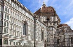 圣玛丽亚del菲奥雷,佛罗伦萨,意大利大教堂  图库摄影