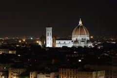 圣玛丽亚del菲奥雷,佛罗伦萨,意大利 免版税库存图片