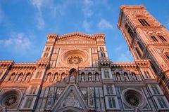 圣玛丽亚del菲奥雷,佛罗伦萨,意大利 库存图片