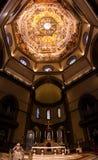 圣玛丽亚del菲奥雷,主要法坛 库存照片