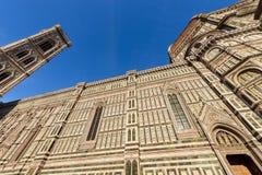 圣玛丽亚del菲奥雷-佛罗伦萨意大利大教堂  库存图片