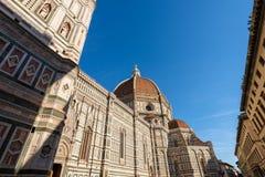 圣玛丽亚del菲奥雷-佛罗伦萨意大利大教堂  库存照片