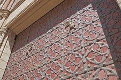 圣玛丽亚Del Mar大教堂在巴塞罗那,西班牙 免版税库存图片