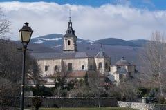 圣玛丽亚del Paular修道院  库存照片