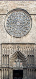 圣玛丽亚del Pi大教堂  巴塞罗那西班牙 图库摄影