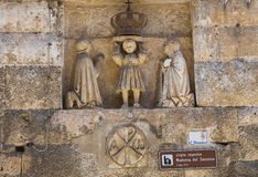 圣玛丽亚del Soccorso教会。Monopoli。意大利。 库存照片