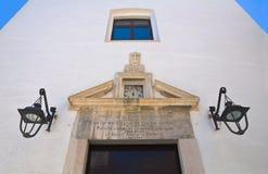 圣玛丽亚della圣母怜子图教会  圣塞韦罗 普利亚 意大利 库存图片