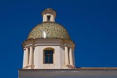 圣玛丽亚della圣母怜子图教会  圣塞韦罗 普利亚 意大利 免版税库存照片