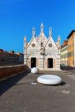 圣玛丽亚della斯皮纳在比萨,意大利 免版税图库摄影