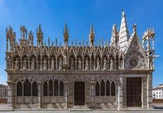 圣玛丽亚della斯皮纳教会 免版税图库摄影