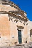 圣玛丽亚della波尔塔教会。莱切。普利亚。意大利。 库存图片