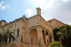 圣玛丽亚della锁链教会。 库存照片