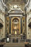 圣玛丽亚della维塔圣所在波隆纳意大利 免版税库存照片