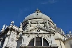 圣玛丽亚della致敬外部装饰 库存图片