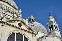 圣玛丽亚della致敬外部装饰 免版税库存照片