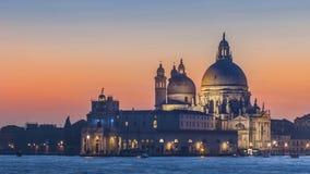 圣玛丽亚della致敬大教堂,威尼斯 免版税图库摄影