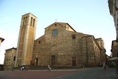 圣玛丽亚delle Grazie,蒙特普齐亚诺教会 图库摄影