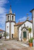 圣玛丽亚dos Anjos教会在瓦伦西亚做米尼奥省 免版税库存照片