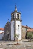 圣玛丽亚dos Anjos教会在瓦伦西亚做米尼奥省 免版税库存图片