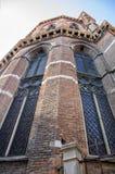 圣玛丽亚Gloriosa dei Frari大教堂的细节在威尼斯 免版税图库摄影