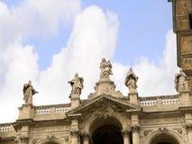 圣玛丽亚Maggiore大教堂在罗马意大利 库存照片