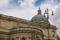 圣玛丽亚Maggiore教会在罗马,意大利 库存照片