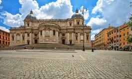 圣玛丽亚Maggiore,罗马, 免版税图库摄影